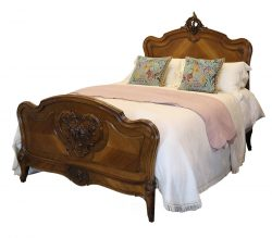 Louis XV Style Antique Bed