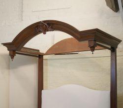 5ft-Mahogany-Half-Tester-Antique-Bed-WHT2
