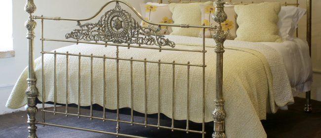 All Brass Antique Bed MSK64