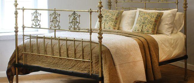 All Brass Antique Bed MK213