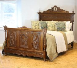 Oak Antique Bed
