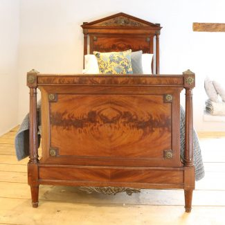 Single-French-Empire-Style-Antique-Bed-WS13