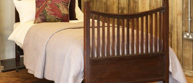 Edwardian Style Single Mahogany Antique Bed WS15